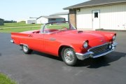 Paul Romine 1957 T Bird